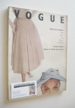 British Vogue magazine - April 1952 (Vintage Issue)