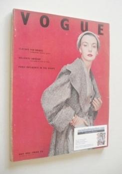 British Vogue magazine - May 1952 (Vintage Issue)