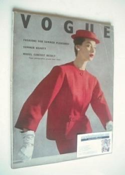 British Vogue magazine - June 1952 (Vintage Issue)