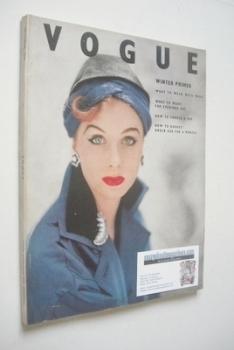 British Vogue magazine - October 1952 (Vintage Issue)