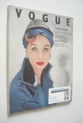 <!--1952-10-->British Vogue magazine - October 1952 (Vintage Issue)