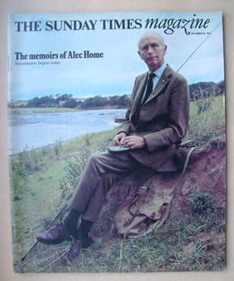 <!--1976-09-26-->The Sunday Times magazine - Alec Douglas-Home cover (26 Se
