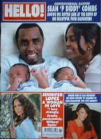 <!--2007-02-13-->Hello! magazine - Sean Combs cover (13 February 2007 - Iss