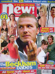 New magazine - 26 April 2004 - David Beckham cover