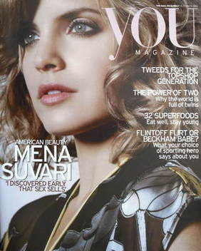 <!--2005-10-09-->You magazine - Mena Suvari cover (9 October 2005)