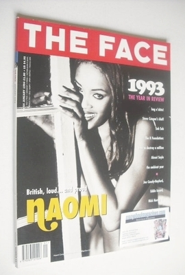<!--1994-01-->The Face magazine - Naomi Campbell cover (January 1994 - Volu
