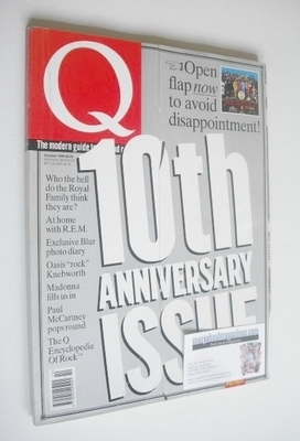 <!--1996-10-->Q magazine - 10th Anniversary Issue (October 1996)