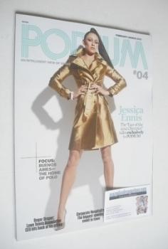 Podium magazine - Jessica Ennis cover (February/March 2012)
