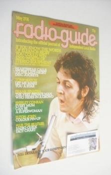 Radio Guide magazine - Paul McCartney cover (May 1976)