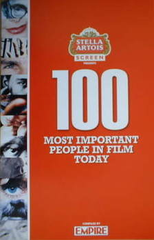 Empire booklet - The 100 Most Important People In Film Today