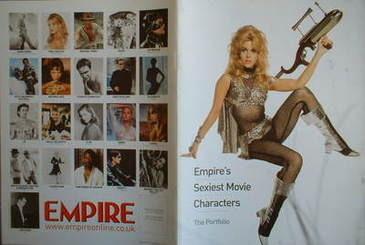 Empire supplement - Empire's Sexiest Movie Characters - The Portfolio