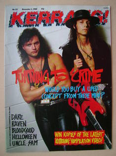 <!--1988-11-05-->Kerrang magazine - Geoff Tate and Chris De Garmo cover (5