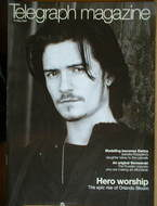 <!--2004-05-15-->Telegraph magazine - Orlando Bloom cover (15 May 2004)