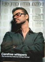 <!--2004-03-06-->Telegraph magazine - George Michael cover (6 March 2004)