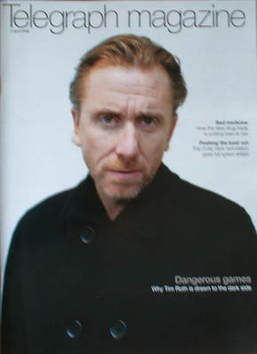 <!--2008-04-05-->Telegraph magazine - Tim Roth cover (5 April 2008)