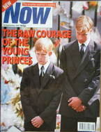 <!--1997-09-18-->Now magazine - Prince William & Prince Harry cover (18 Sep