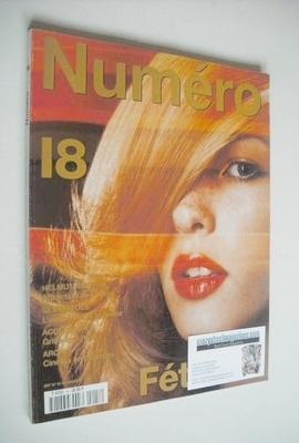<!--2000-11-->Numero magazine - November 2000 - Amy Lemons cover