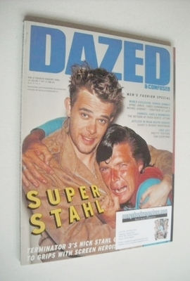 <!--2003-08-->Dazed & Confused magazine (August 2003 - Nick Stahl cover)