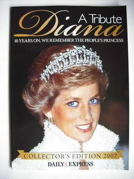 Princess Diana magazine - A Tribute Collector's Edition 2007