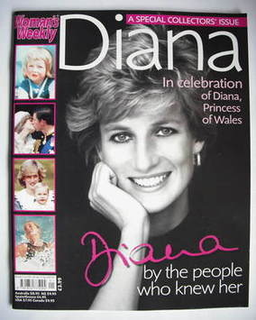 <!--2007-07-05-->Woman's Weekly magazine - Princess Diana cover (5 July 200