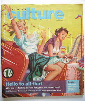 <!--2007-06-17-->Culture magazine - Hello To All That cover (17 June 2007)