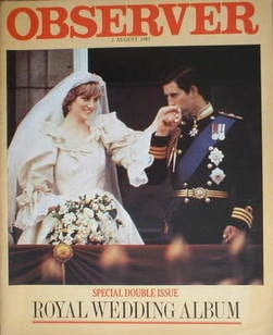 <!--1981-08-02-->The Observer magazine - Prince Charles and Princess Diana