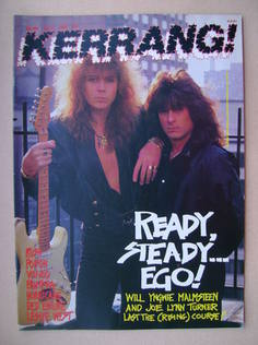 <!--1988-05-07-->Kerrang magazine - Yngwie Malmsteen and Joe Lynn Turner co