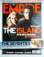<!--2005-09-->Empire magazine - Ewan McGregor cover (September 2005 - Issue