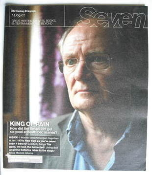 Seven magazine - Jim Broadbent cover (23 September 2007)