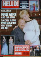 <!--2000-11-07-->Hello! magazine - Denise Welch and Tim Healy cover (7 Nove