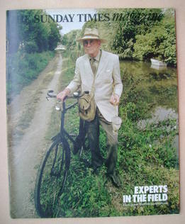 <!--1977-01-09-->The Sunday Times magazine - Sir Alister Hardy cover (9 Jan
