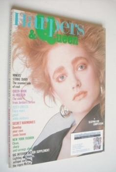 British Harpers & Queen magazine - February 1985