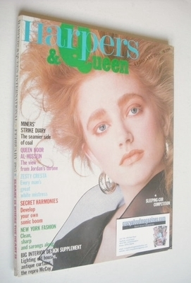 <!--1985-02-->British Harpers & Queen magazine - February 1985