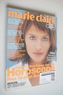<!--1994-06-->British Marie Claire magazine - June 1994 - Helena Christense