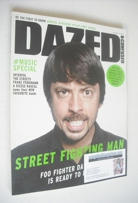 <!--2005-06-->Dazed & Confused magazine (June 2005 - Dave Grohl cover)