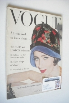 British Vogue magazine - September 1960 (Early September)