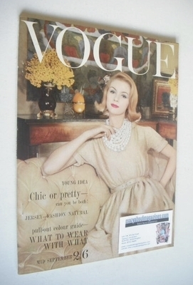 <!--1960-09-->British Vogue magazine - September 1960 (Mid-September)