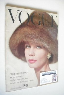 <!--1960-10-->British Vogue magazine - October 1960 (Early October)