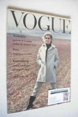 <!--1960-10-->British Vogue magazine - October 1960 (Mid-October)