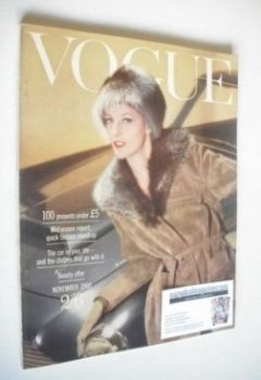 British Vogue magazine - November 1960 (Vintage Issue)