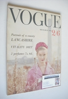 <!--1960-03-->British Vogue magazine - March 1960 (Mid-March)