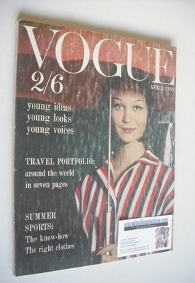 <!--1960-04-->British Vogue magazine - April 1960 (Vintage Issue)