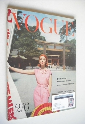 <!--1960-05-->British Vogue magazine - May 1960 (Vintage Issue)