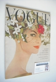 British Vogue magazine - June 1960 (Vintage Issue)