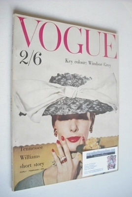 <!--1960-02-->British Vogue magazine - February 1960 (Early February)