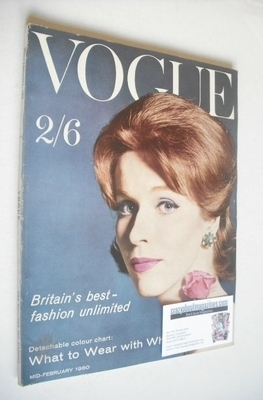<!--1960-02-->British Vogue magazine - February 1960 (Mid-February)