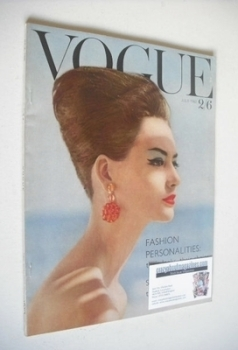 British Vogue magazine - July 1960 (Vintage Issue)