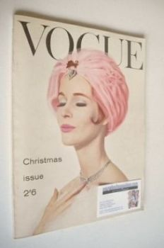 British Vogue magazine - December 1960 (Vintage Issue)