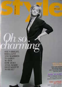 <!--2009-04-26-->Style magazine - Anne-Marie Duff cover (26 April 2009)