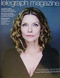 <!--2009-04-18-->Telegraph magazine - Michelle Pfeiffer cover (18 April 200